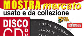 Mostra del disco, cd e dvd al 105 Stadium