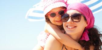 Late July offer at a hotel in Rimini for families on the sea with private beach