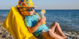 Offer July at the sea in Rimini hotel directly on the beach for free children